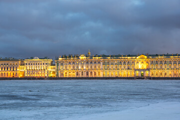 The Winter Palace in Saint Petersburg