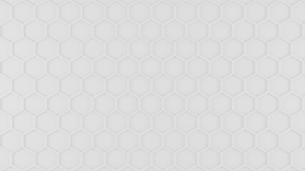 White Honeycomb pattern graphic