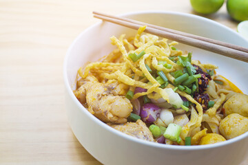 Khao Soi, Northern Thai curry noodle