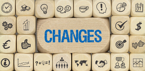 Changes / Würfel mit Symbole