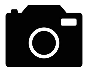 camera black icon vector