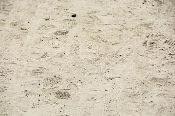 Sand pathway texture