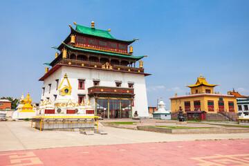Gandan Monastery in Ulaanbaatar
