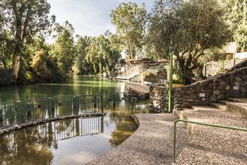 Купель на реке Иордан