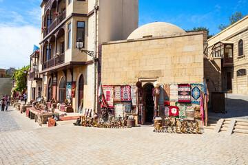 Souvenir market in Baku