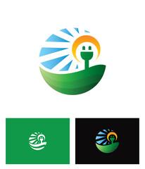 Electrical or Solar Energy Logo