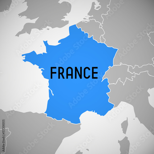 France - map