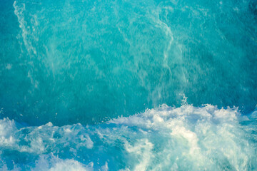Blue water for background