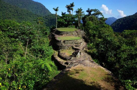 La Ciudad Perdida (the Lost City) in Colombia