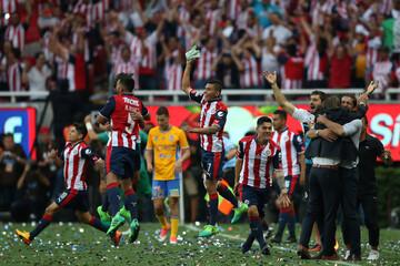 Football soccer - Mexican First Division Final Second Leg - Chivas de Guadalajara V Tigres