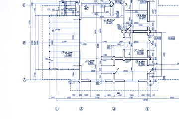 Blueprint photos royalty free images graphics vectors videos part of blueprint floor plan architectural drawing background malvernweather Images