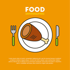 protein food illustration vector icon design graphic
