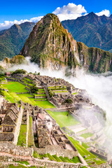 Garden Poster South America Country Machu Picchu, Cusco - Peru