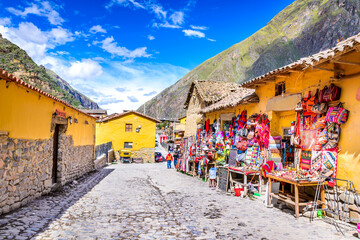 Canvas Prints South America Country Ollantaytambo, Cusco, Peru