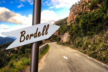 Schild 253 - Bordell