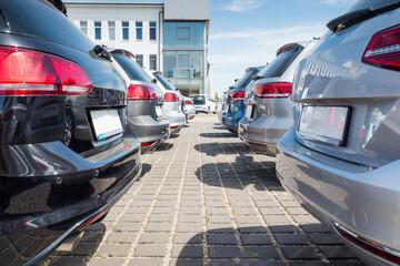 Neuwagen, Autoauslieferung