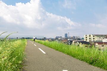 road of bank.