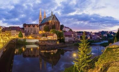 Peterskirche Görlitz mit Neisseblick