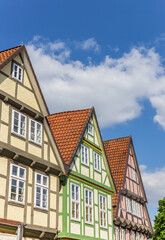 Fotomurales - Colorful houses in the historic center of Celle