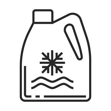 antifreeze vector icon