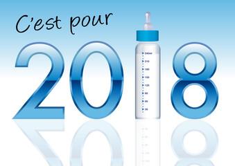 faire part de naissance - 2018 - naissance - bébé - garçon