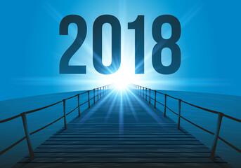 2018 - objectif - horizon - perspectives - présentation - projet - ponton - entreprise