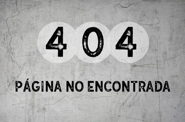 página no encontrada - 404
