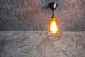 lamp in modern style