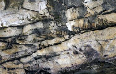Natural stone mountain texture