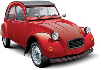 Vintage economy car