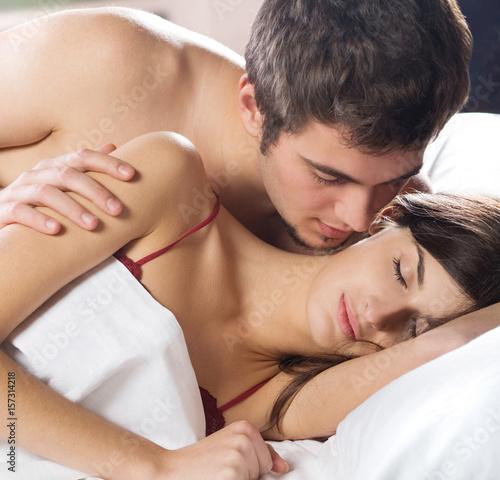 Hot first night sex