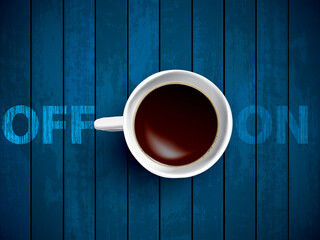 cup of coffee concept