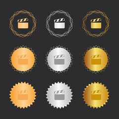 Film - Bronze, Silber, Gold Medaillen