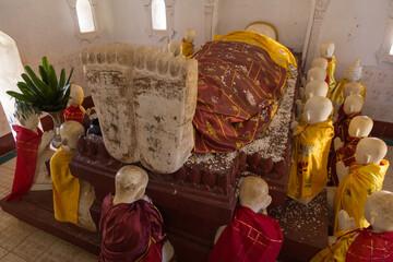 Buddha image, Kakku Pagodas, Taunggyi, Myanmar
