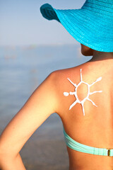 Sunblock from sunburn
