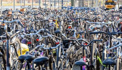 Fahrradparkplatz - Mobilität