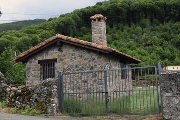 Wall Mural - Casa rural de Hervás, Cáceres, España