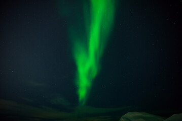 Aurora activity over Tromso