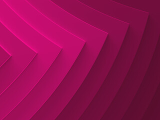 Pink pointers. Abstract background. This pattern works for text backgrounds, web design, print or mobile application. 3D illustration.