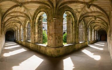 Santa Maria de Armenteira Monastery in Galicia