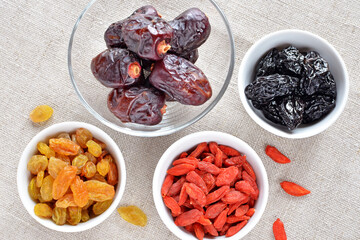 dried fruits snack