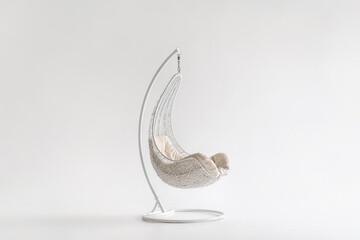 Trendy hanging armchair