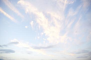 朝焼け 雲 空 そら 朝 morning