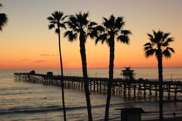San Clemente Pier Sunset 2