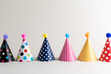 Party theme with with hats