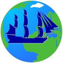 Sailing ship-11