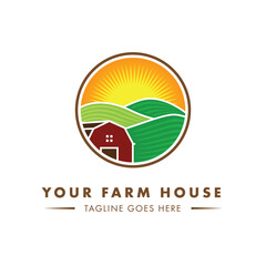 Farm House Logo Design