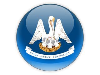 Flag of louisiana, US state icon