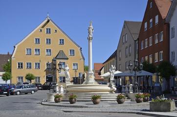 Marienbrunnen in Friedberg