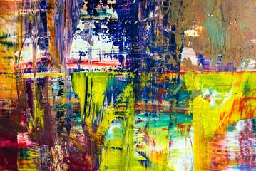 abstrakter Hintergrund mit knalligen Farben